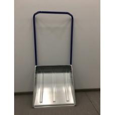 Скрепер для уборки снега металлический (600х600) - Центроинструмент 1612