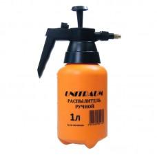 Распылитель ручной UNITRAUM емкость 1 л с регулируемым латунным соплом