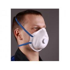 Респиратор РК Юлия-219 формов. с клап. FFP2 (до 12 ПДК) (пыль,дым,туман FFP2 R D, резинки с регулировкой)