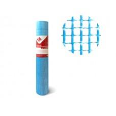 Стеклосетка штукатурная 5х5, 1мх50м, 160, синяя, PRORAB (разрывная нагрузка 1500Н/м2) (LIHTAR)