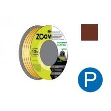 """Уплотнитель """"P"""" коричневый 100м ZOOM CLASSIC"""