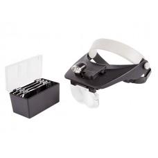 Бинокуляр монтажный 1.2х, 1.8х, 2.5х, 3.5х с 2хLED подсветкой (REXANT)