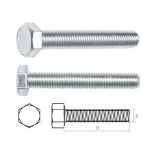 Болт М10х120 мм шестигр., цинк, кл.пр. 5.8, DIN 933 (5 кг) STARFIX