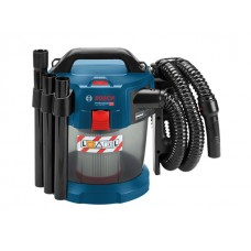 Аккум. пылесос BOSCH GAS 18V-10 L в кор. + набор насадок (18.0 В, БЕЗ АККУМУЛЯТОРА, 6.00 л, класс: L, самоочистка: нет)