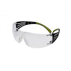 Очки открытые 3М 401 Securefit прозрачные PC (Очки открытыте с покрытием AS/AF(против царапин и запотевания), PC- поликарбонатное стнкло)