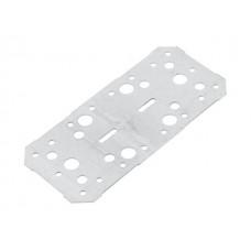 Пластина крепежная 200х90 белый цинк Цвiк (Фактический размер изделия 191*86мм, толщина 1,7мм) (ЦВIК)
