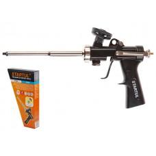 Пистолет для монтажной пены STARTUL EXPERT (ST4059) (в комплекте 4 насадки)
