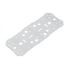 Пластина крепежная 260х100 белый цинк Цвiк (Фактический размер изделия 251*97мм, толщина 1,7мм) (ЦВIК)