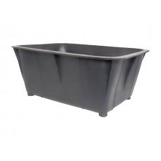 Ящик хозяйственный 40л (цветной, пищевой) (без ручек, НЕ белый, пищевой, производство РБ) (БЗПИ)