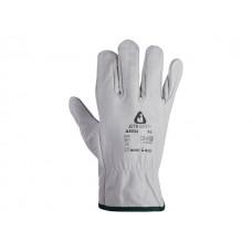 Перчатки кожанные цельные р-р 10/xL, JetaSafety (буйволовая кожа) (JETA SAFETY)
