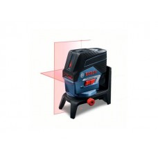 """Нивелир лазерный BOSCH GCL 2-50 C с держателем в кор. (проекция: крест, до 50 м, +/- 0.30 мм/м, резьба 1/4"""")"""