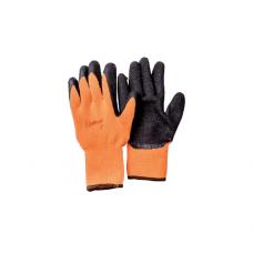 Перчатки UNITRAUM универсальные (оранжево/черные) с полиуретановым покрытием