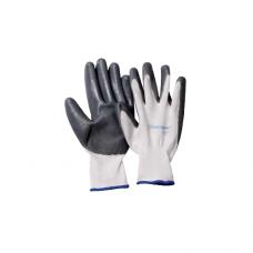 Перчатки UNITRAUM универсальные (серо/белые) с полиуретановым покрытием