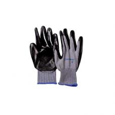 Перчатки UNITRAUM универсальные (серые) с полиуретановым покрытием