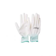 Перчатки UNITRAUM универсальные (белые) с полиуретановым покрытием