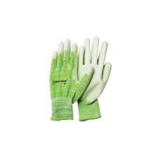 Перчатки UNITRAUM универсальные (зеленые) с полиуретановым покрытием