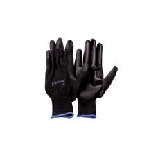 Перчатки UNITRAUM универсальные (черные) с полиуретановым покрытием